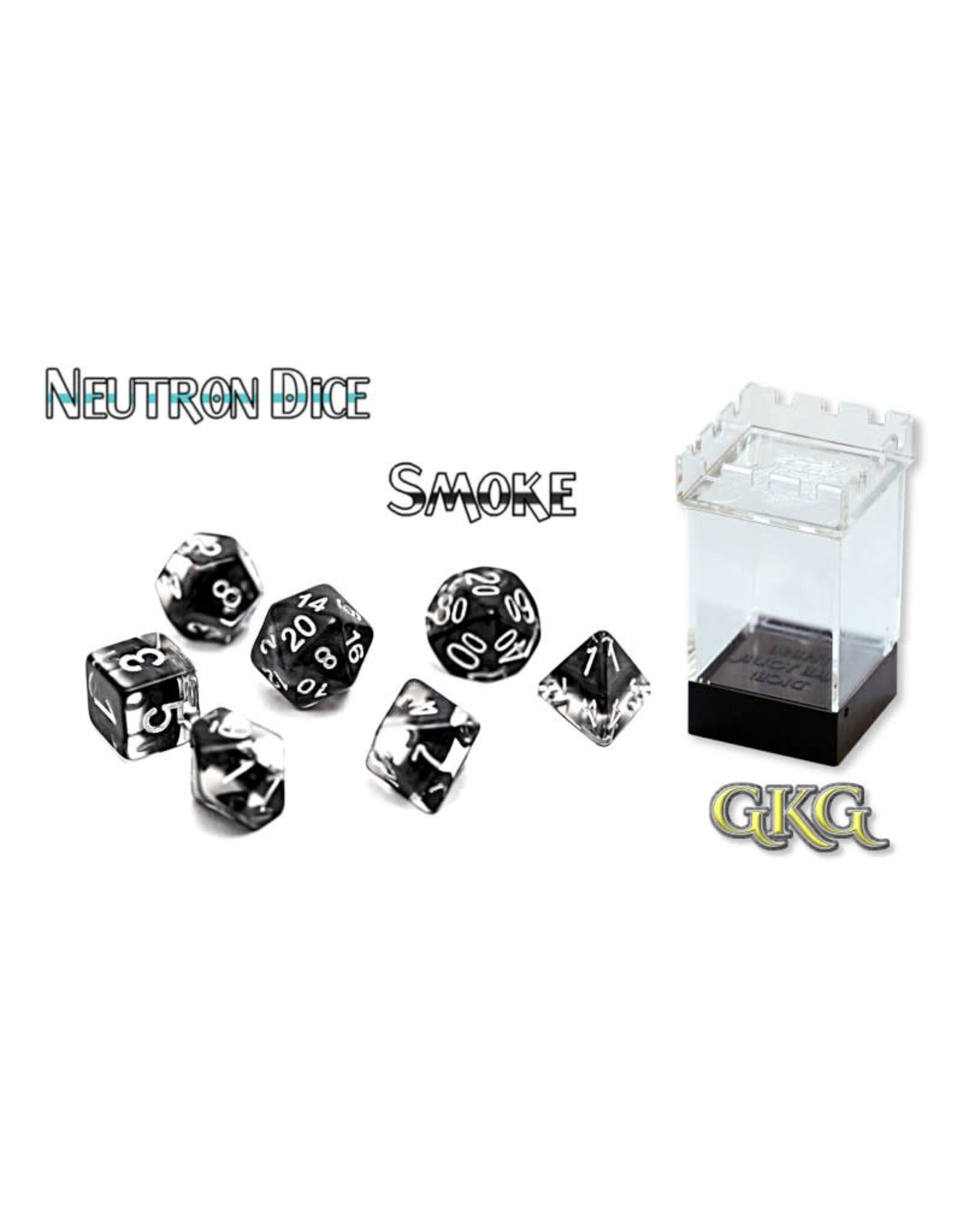 Gate Keeper Games Gatekeeper Dice Set: Smoke Black (7)
