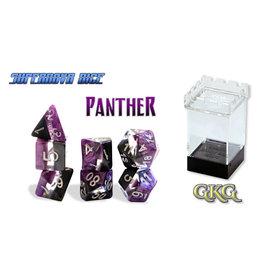 Gate Keeper Games Gatekeeper Dice Set: Panther (7)