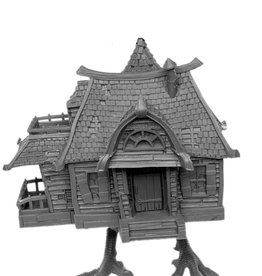 Reaper Bones Unpainted Mini: Baba Yaga's Hut Box Set