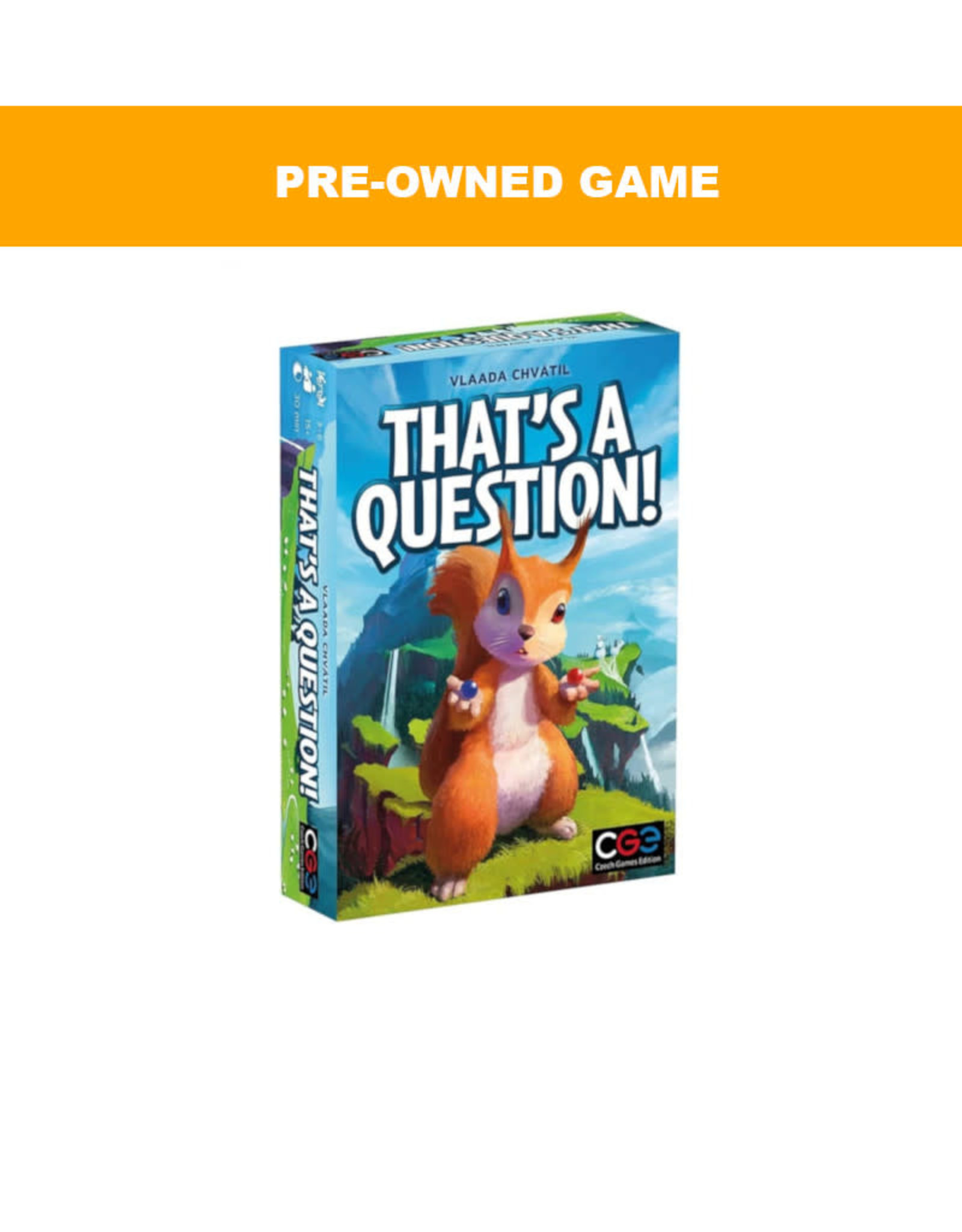 Czech Games Edition (Pre-Owned Game) That's a Question