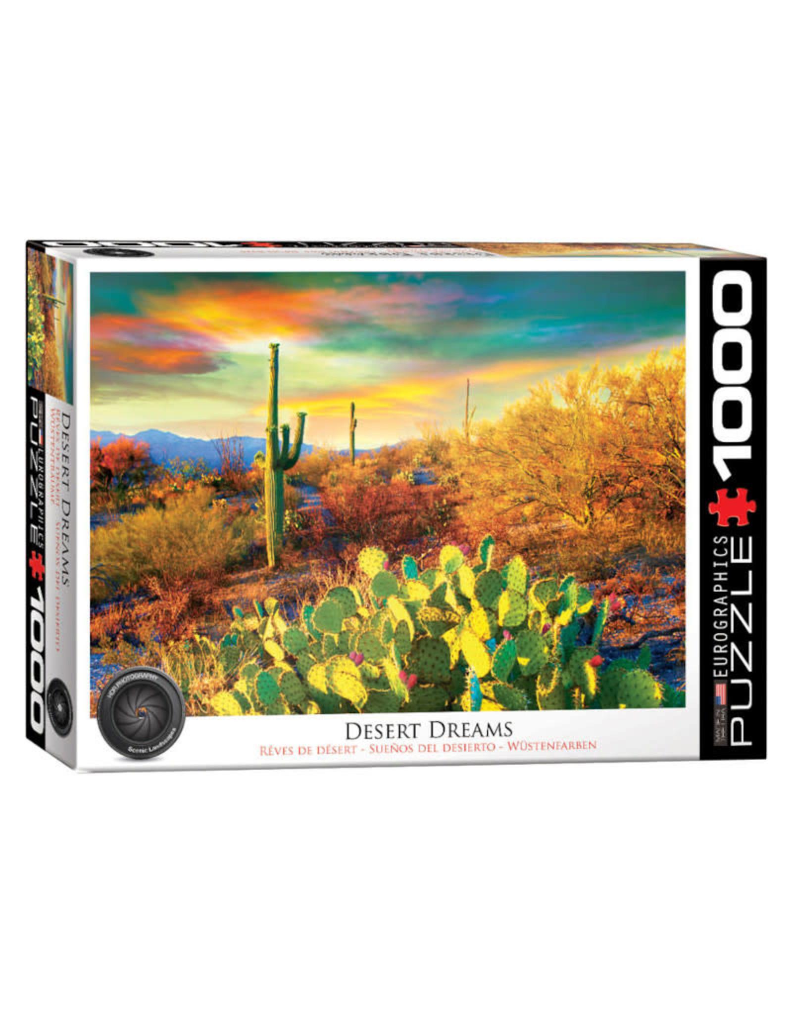 Eurographics Desert Dreams 1000 PCS