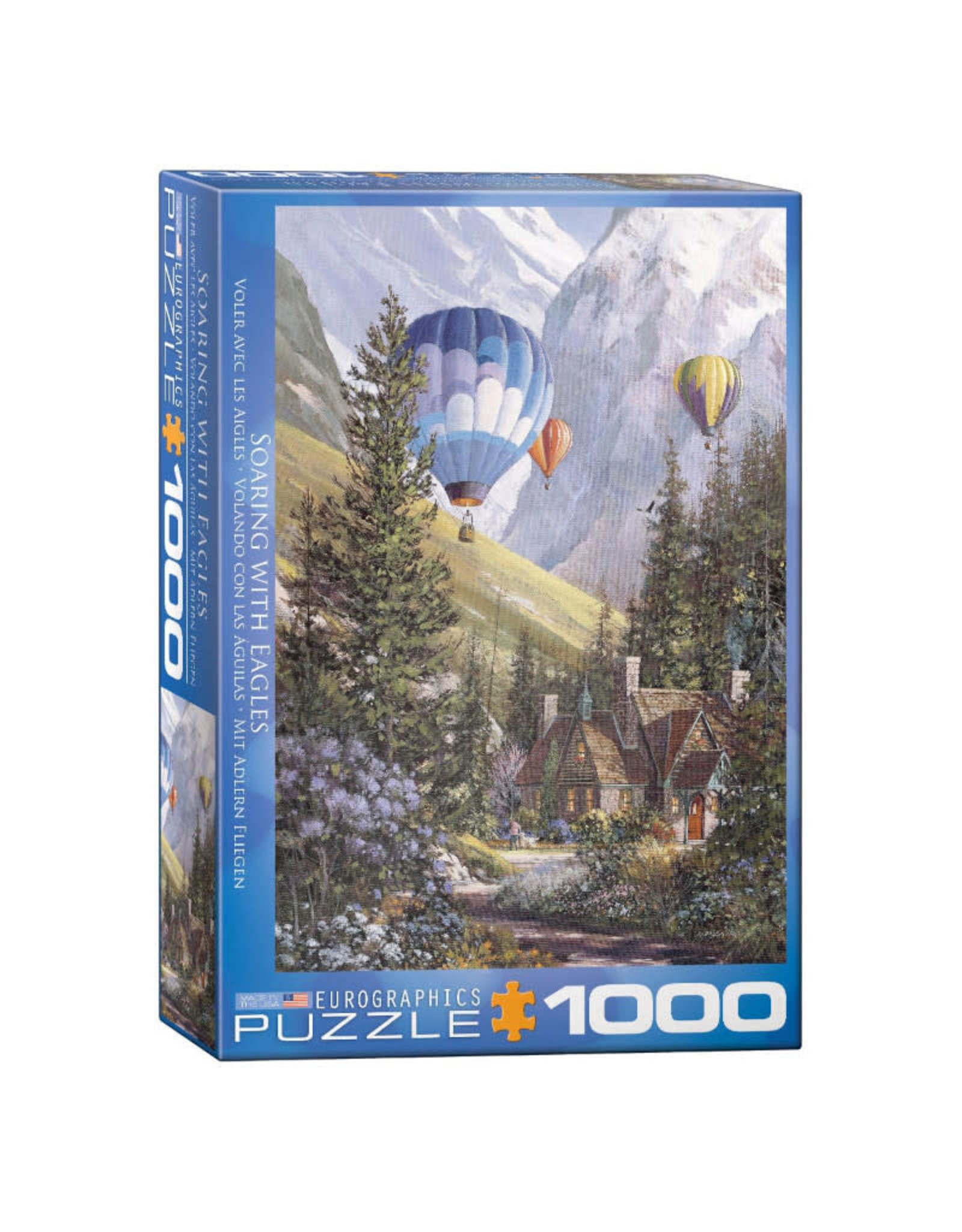 Eurographics Soaring with Eagles Puzzle 1000 PCS