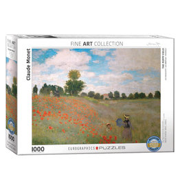 Eurographics Poppy Field by Monet 1000 PCS