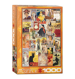 Eurographics Theater & Opera Vintage Posters 1000 PCS