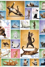 Eurographics Yoga Cats Puzzle 1000 PCS