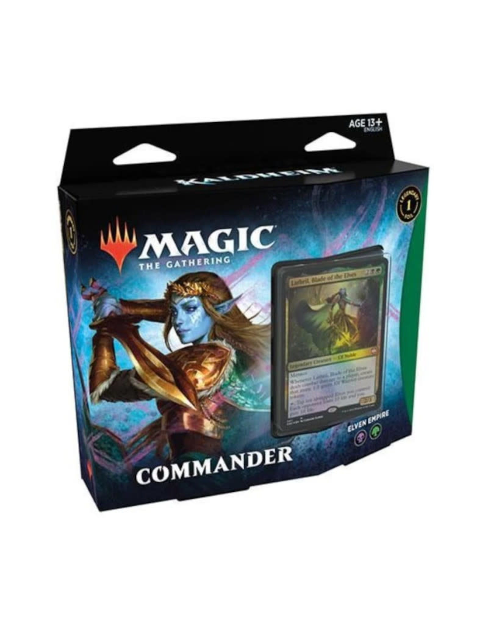 Wizards of the Coast MTG Kaldheim Commander Deck Elven Empire