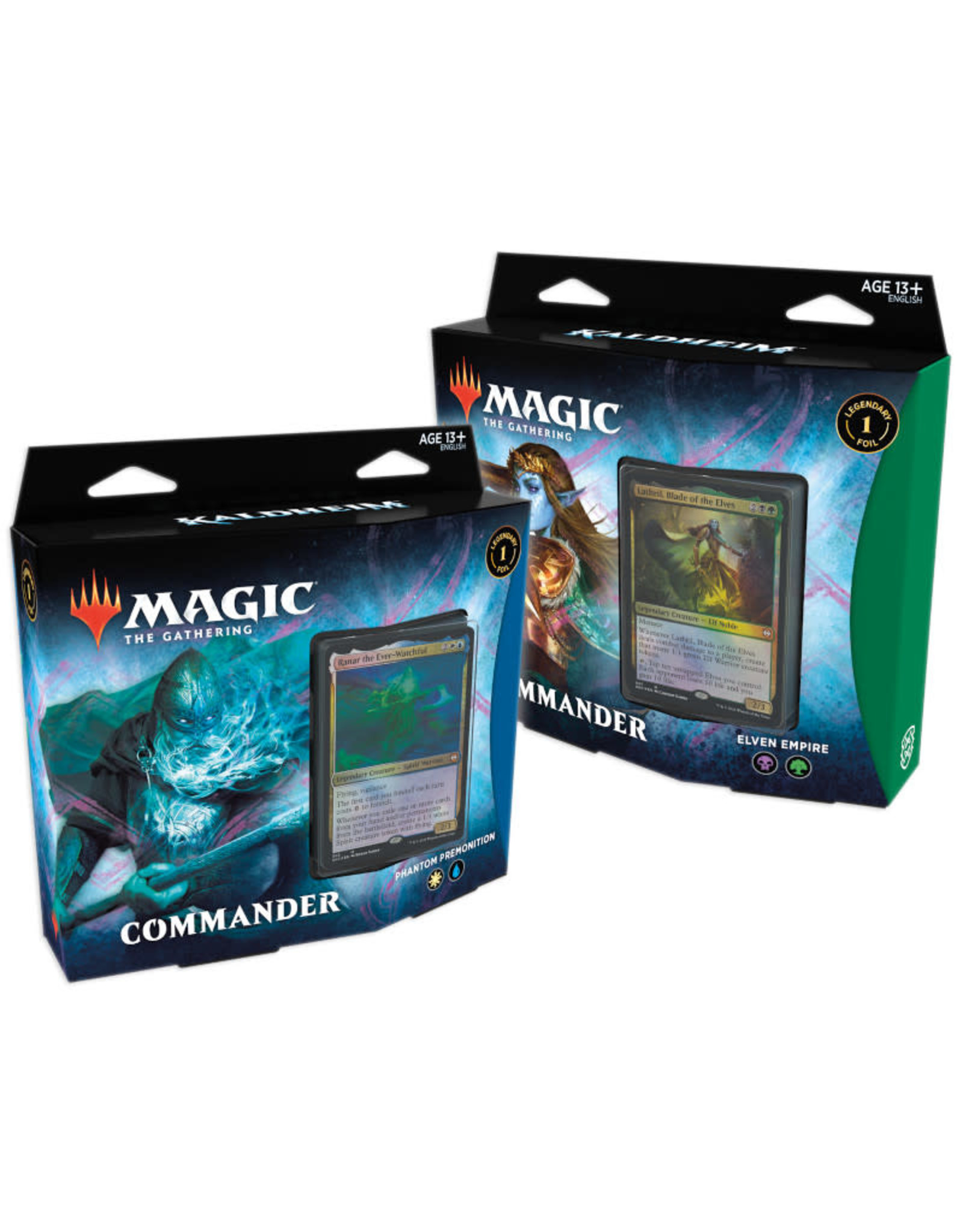 Wizards of the Coast MTG Kaldheim Commander Set of 2 Decks (Pre-Order)