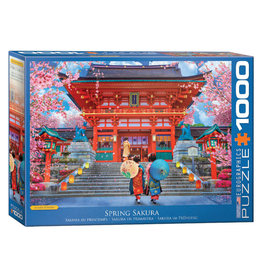 Eurographics Spring Sakura Puzzle 1000 PCS