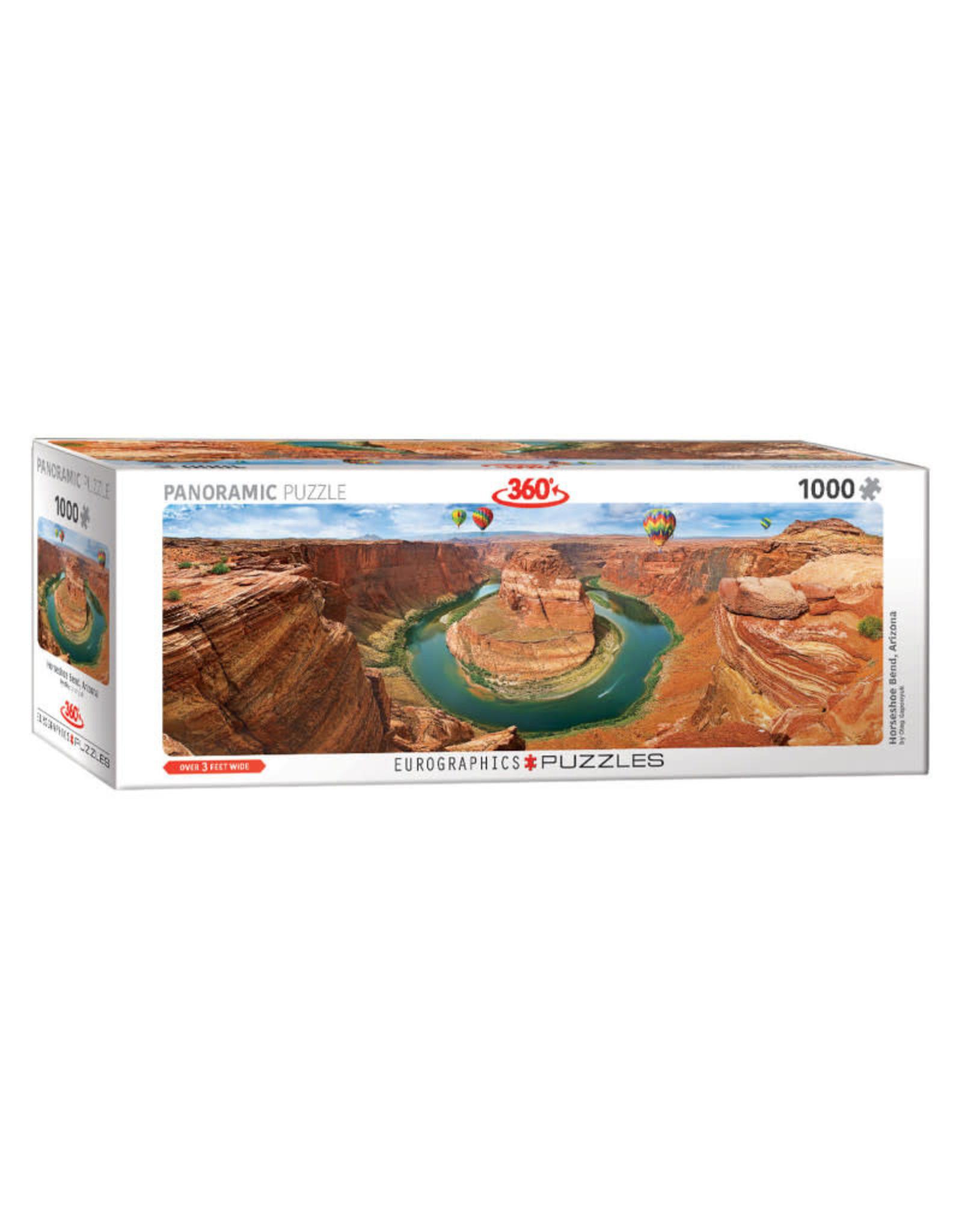 Eurographics Horseshoe Bend, Arizona Puzzle 1000 PCS Panorama