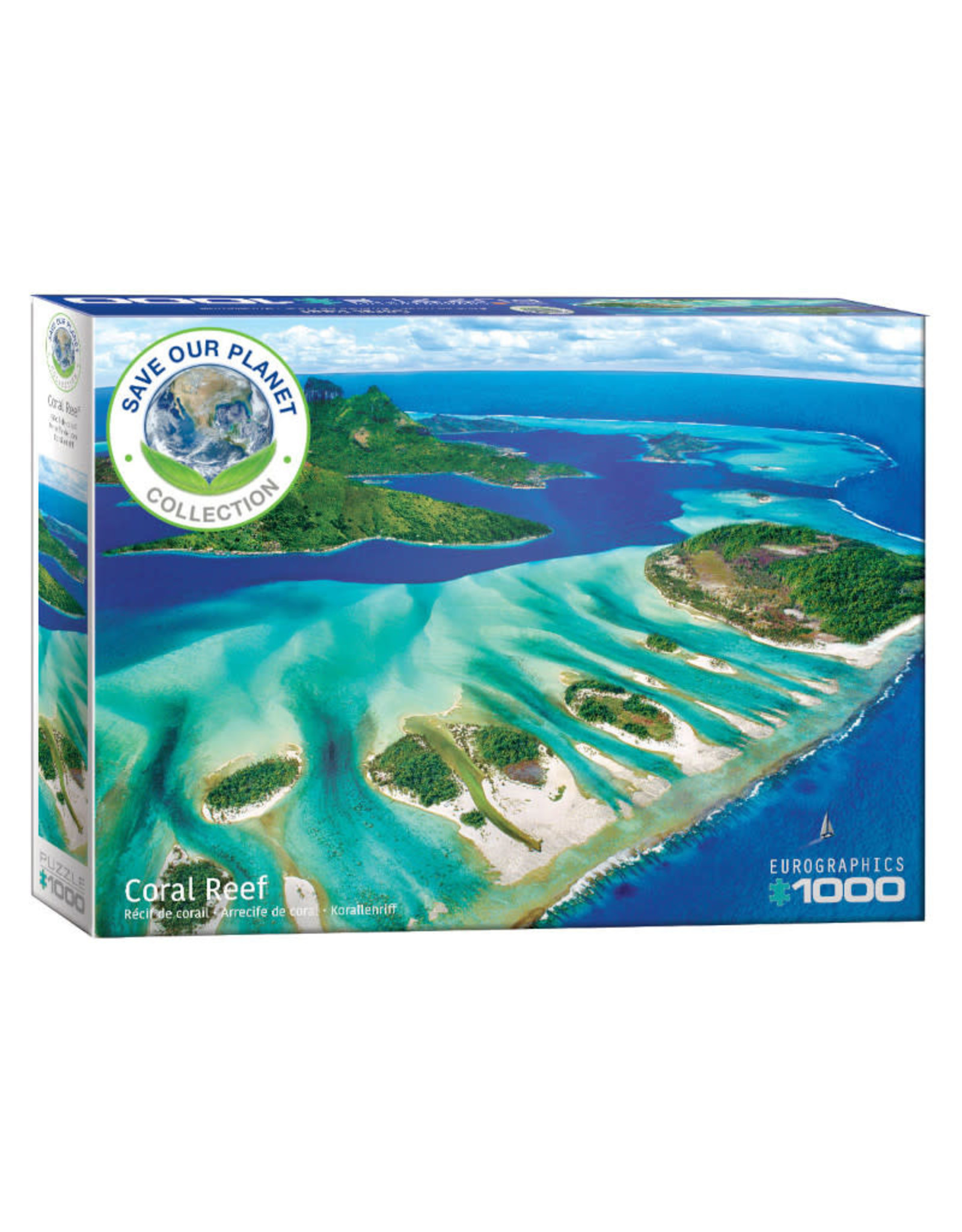 Eurographics Coral Reef Puzzle 1000 PCS