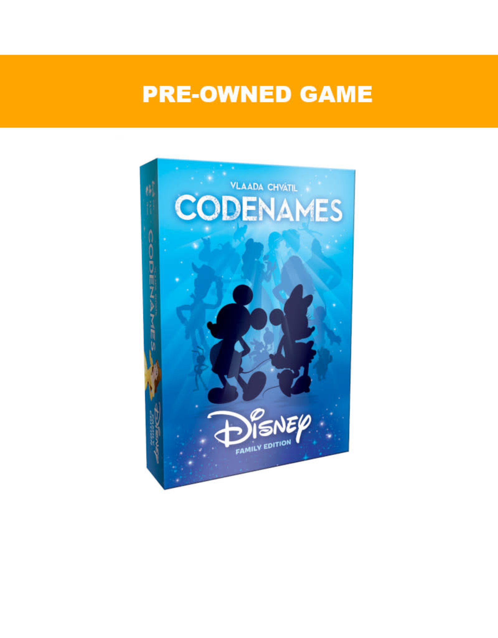 USAopoly (Pre-Owned Game) Codenames Disney