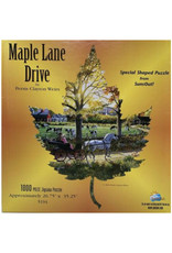 Miscellaneous Maple Lane Drive Puzzle 1000 PCS Out of Print Collector's Item