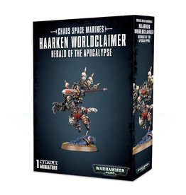 Games Workshop Warhammer 40K Chaos Space Marines Haarken Worldclaimer