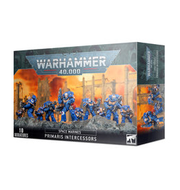 Games Workshop Warhammer 40K Space Marine Primaris Intercessors