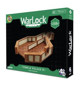 Wizkids WarLock Tiles: Town and Village Tiles Angles (Pre-Order)