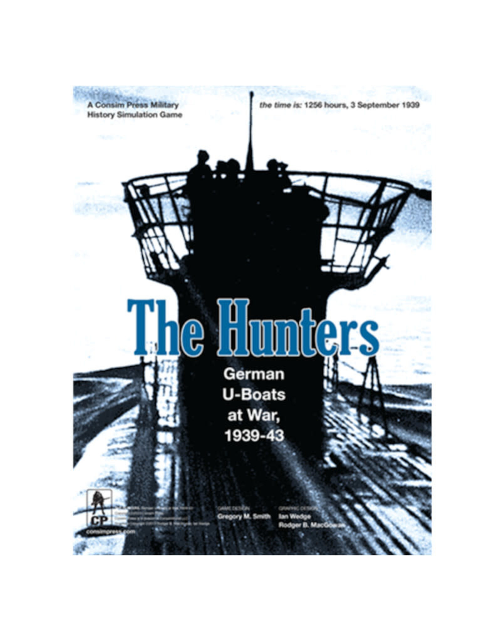 GMT Games The Hunters: German U-Boats at War