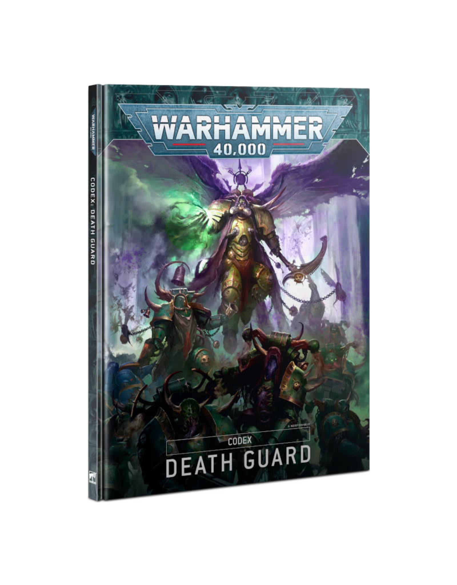 Games Workshop Warhammer 40K Codex Death Guard