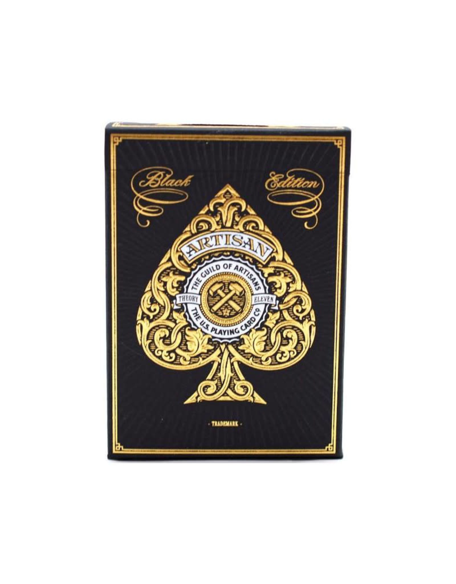 United States Playing Card Co Playing Cards: Bicycle Theory11 Artisans (Black or White)
