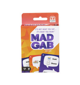 Mattel Mad Gab Card Game