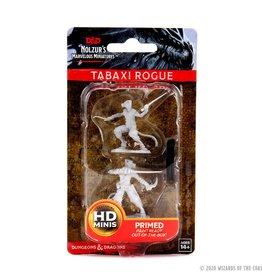 Wizkids D&D Unpainted Minis: Tabaxi Rogue Female