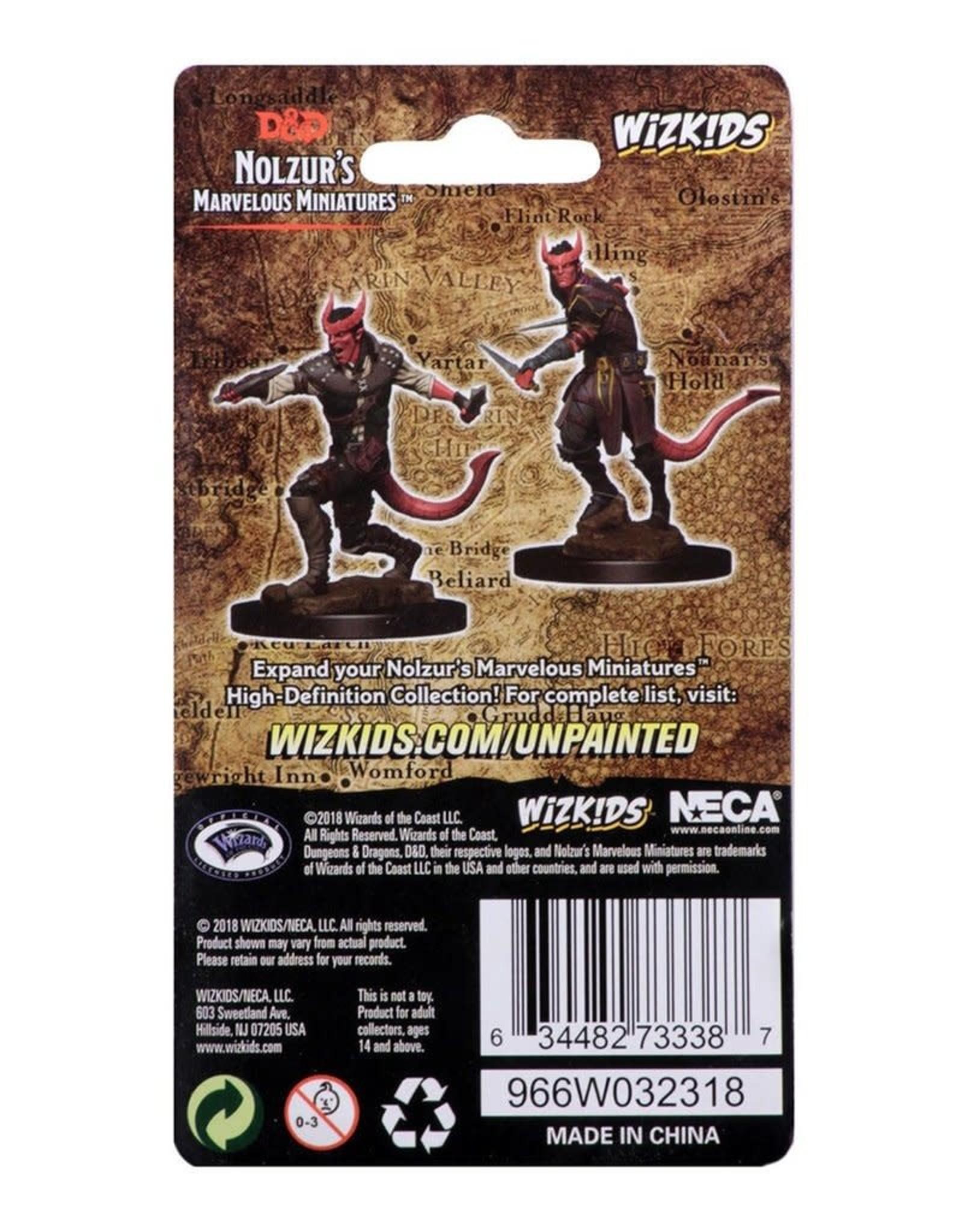 Wizkids D&D Unpainted Minis: Tiefling Rogue Male