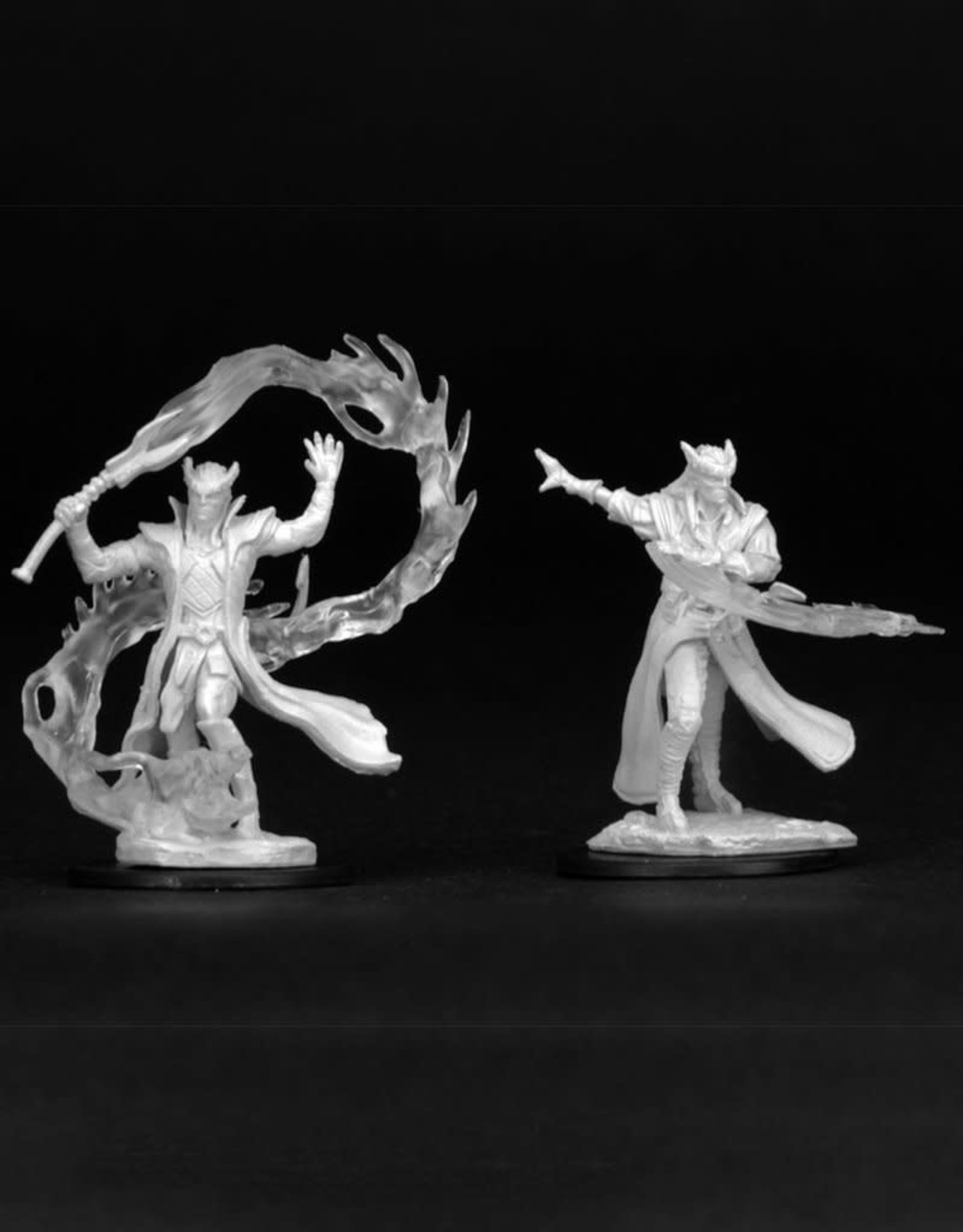 Wizkids D&D Unpainted Minis: Tiefling Sorcerer Male