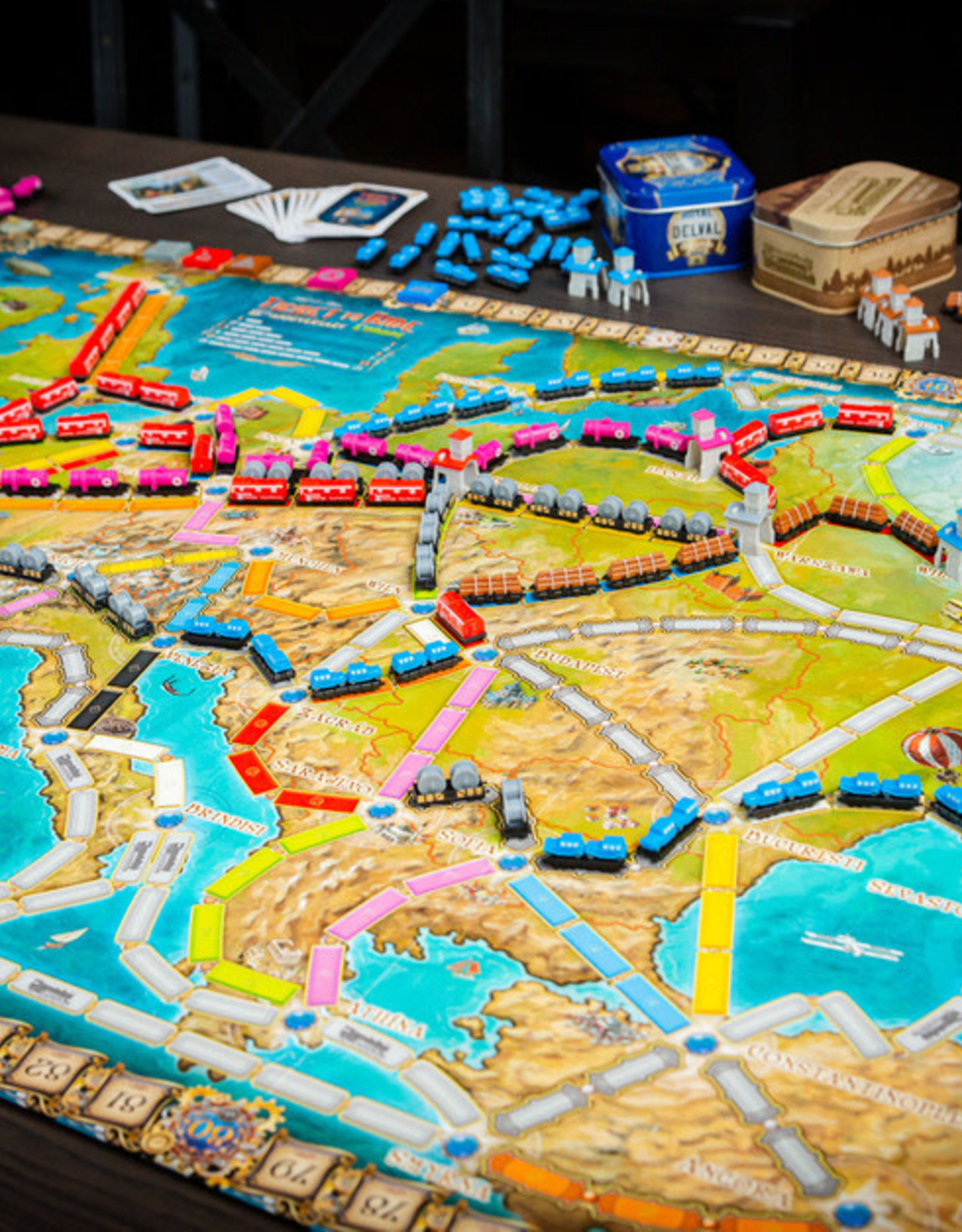Ticket to Ride Europe 15th Anniversary (Pre-Order)