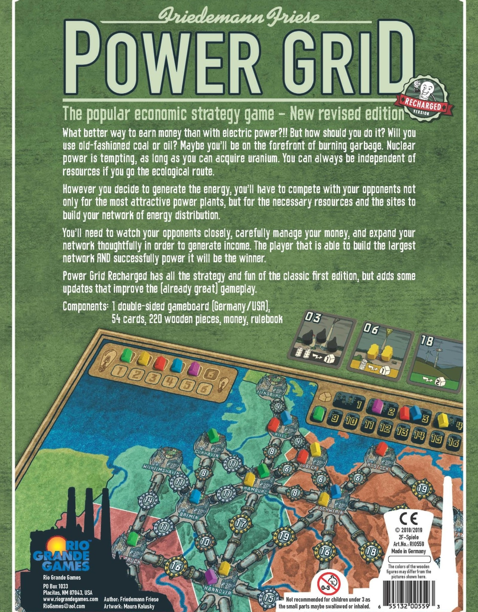 Rio Grande Games Power Grid
