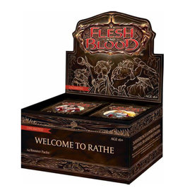 Legend Story Studios Flesh and Blood TCG: Welcome To Rathe Booster Display (24)