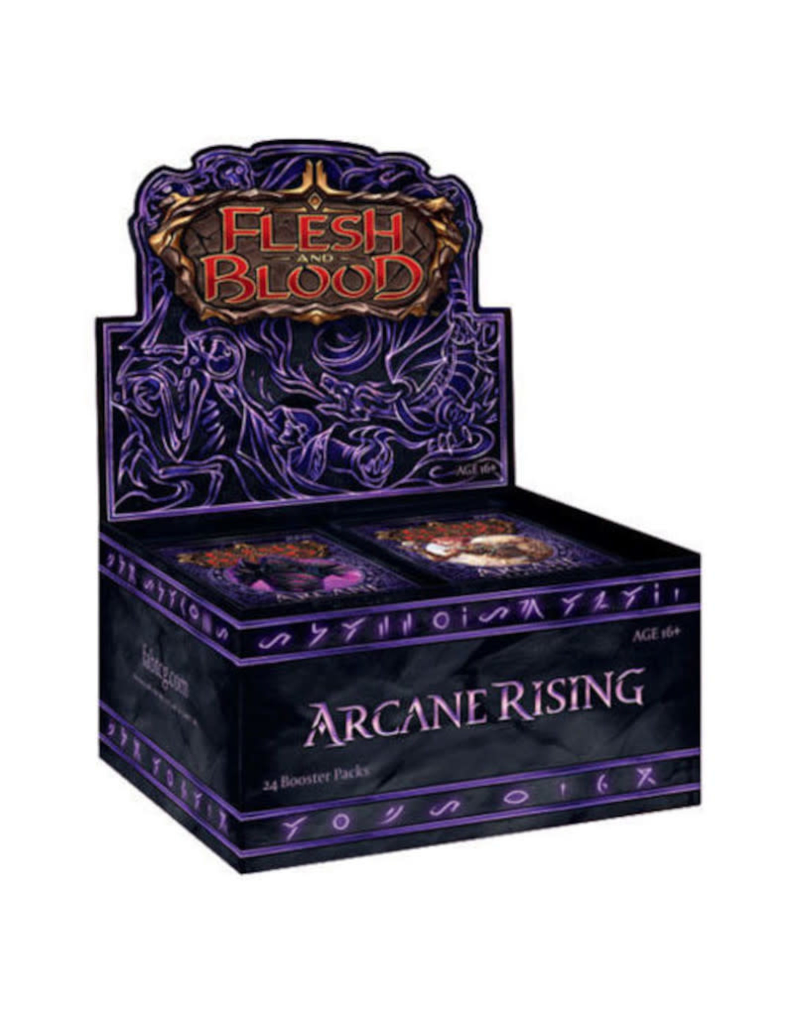 Legend Story Studios Flesh and Blood TCG: Arcane Rising Unlmited Booster Display (24)