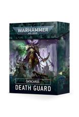 Games Workshop Warhammer 40k Datacards Death Guard