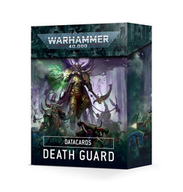 Games Workshop Warhammer 40k Datacards Death Guard