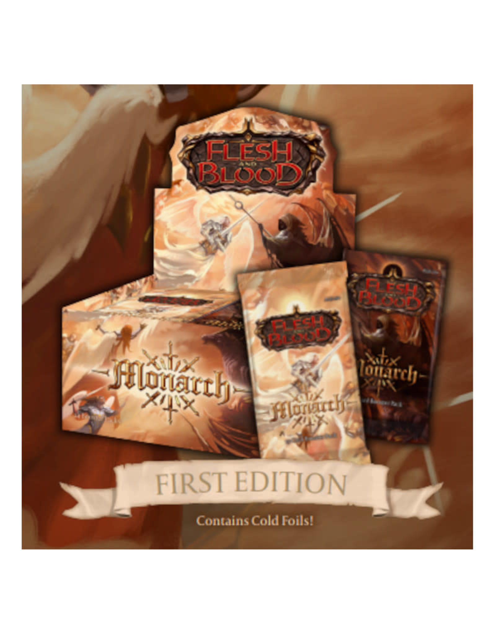 Miscellaneous Flesh and Blood TCG: Monarch First Edition Booster Display (24)
