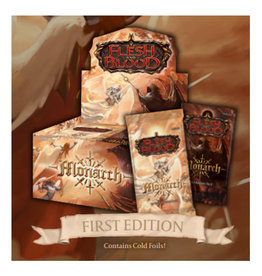 Miscellaneous --sold out--Flesh and Blood TCG: Monarch First Edition Booster Display (24) (Pre-Order)