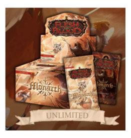 Legend Story Studios Flesh & Blood TCG: Monarch Unlimited Booster Display (24)