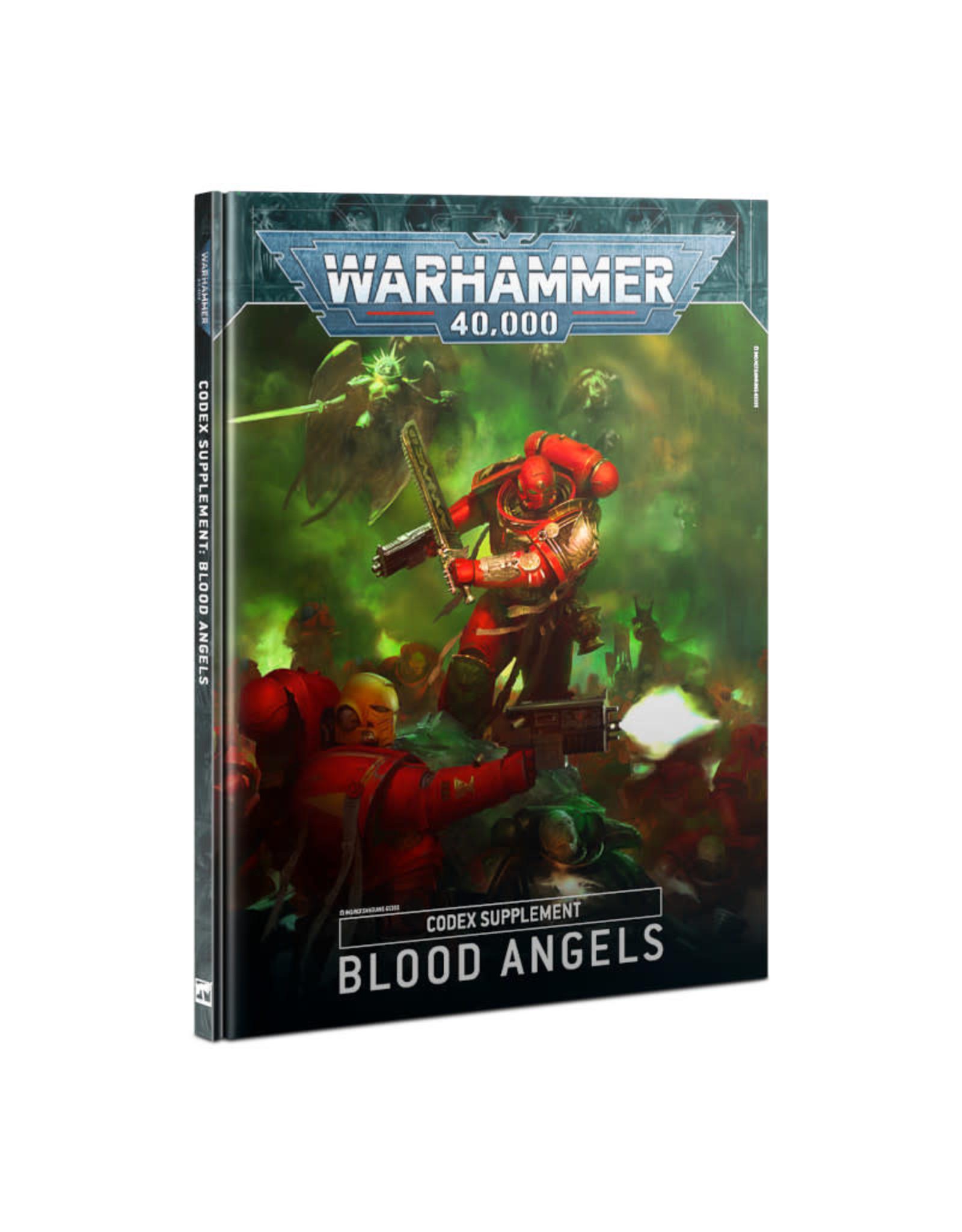 Games Workshop Warhammer 40k Codex Supplement: Blood Angels (9th)