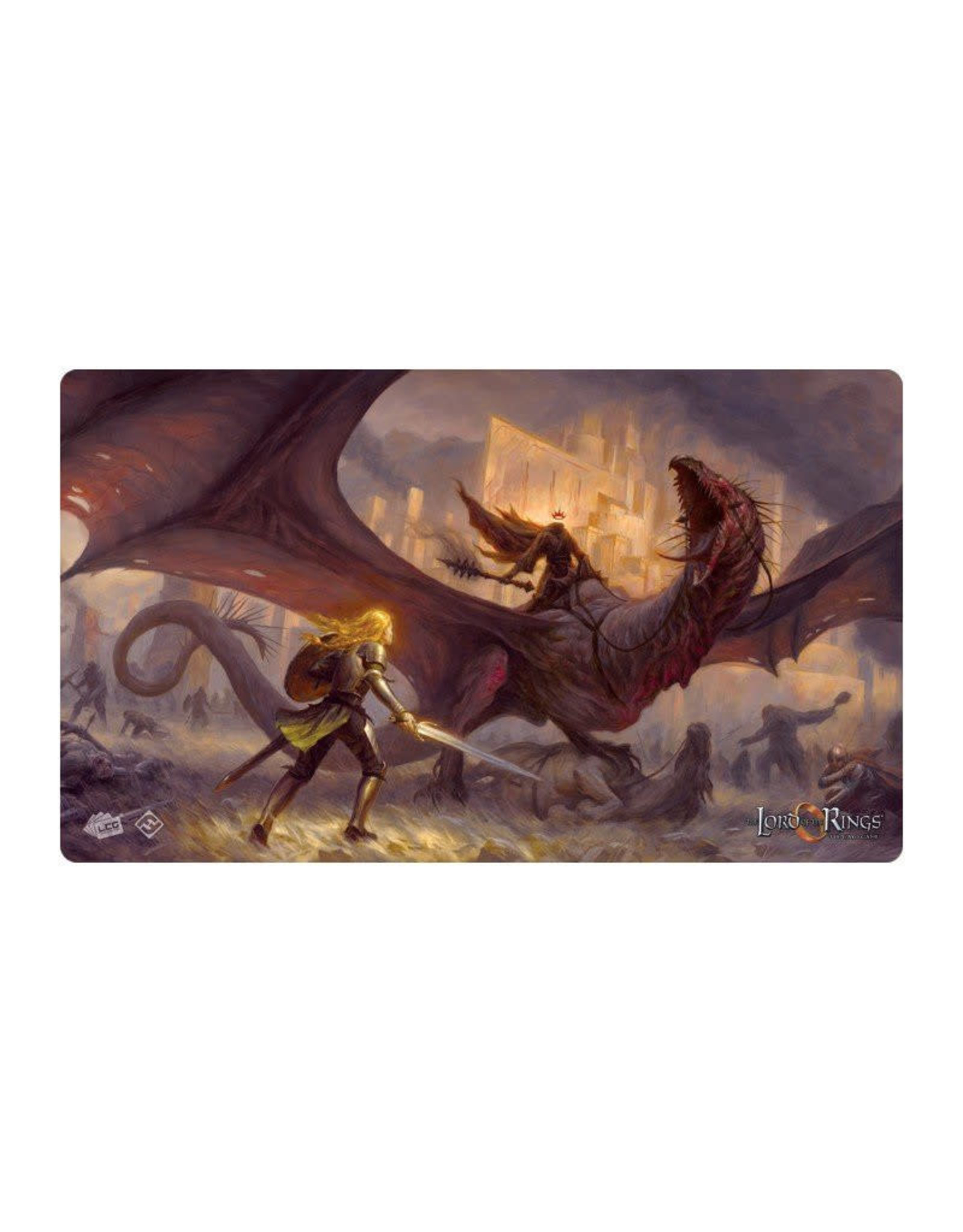 Fantasy Flight Games Playmat: Lord of the Rings Flame of the West