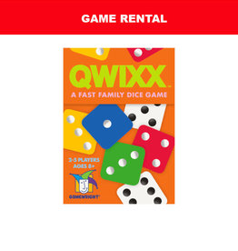 Gamewright (RENT) Qwixx For a Day. Love It! Buy It!