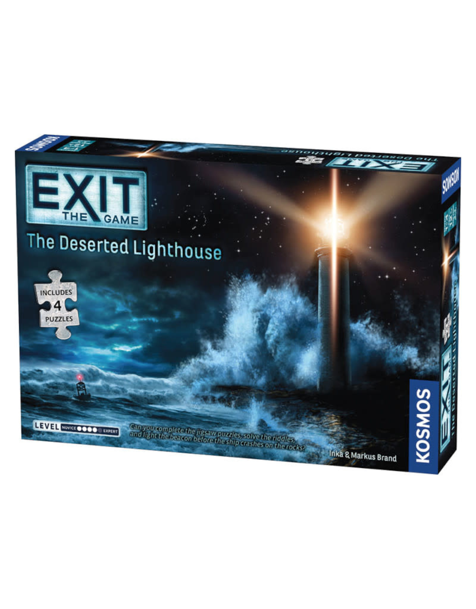 Thames and Kosmos Exit: The Deserted Lighthouse (with Puzzle)