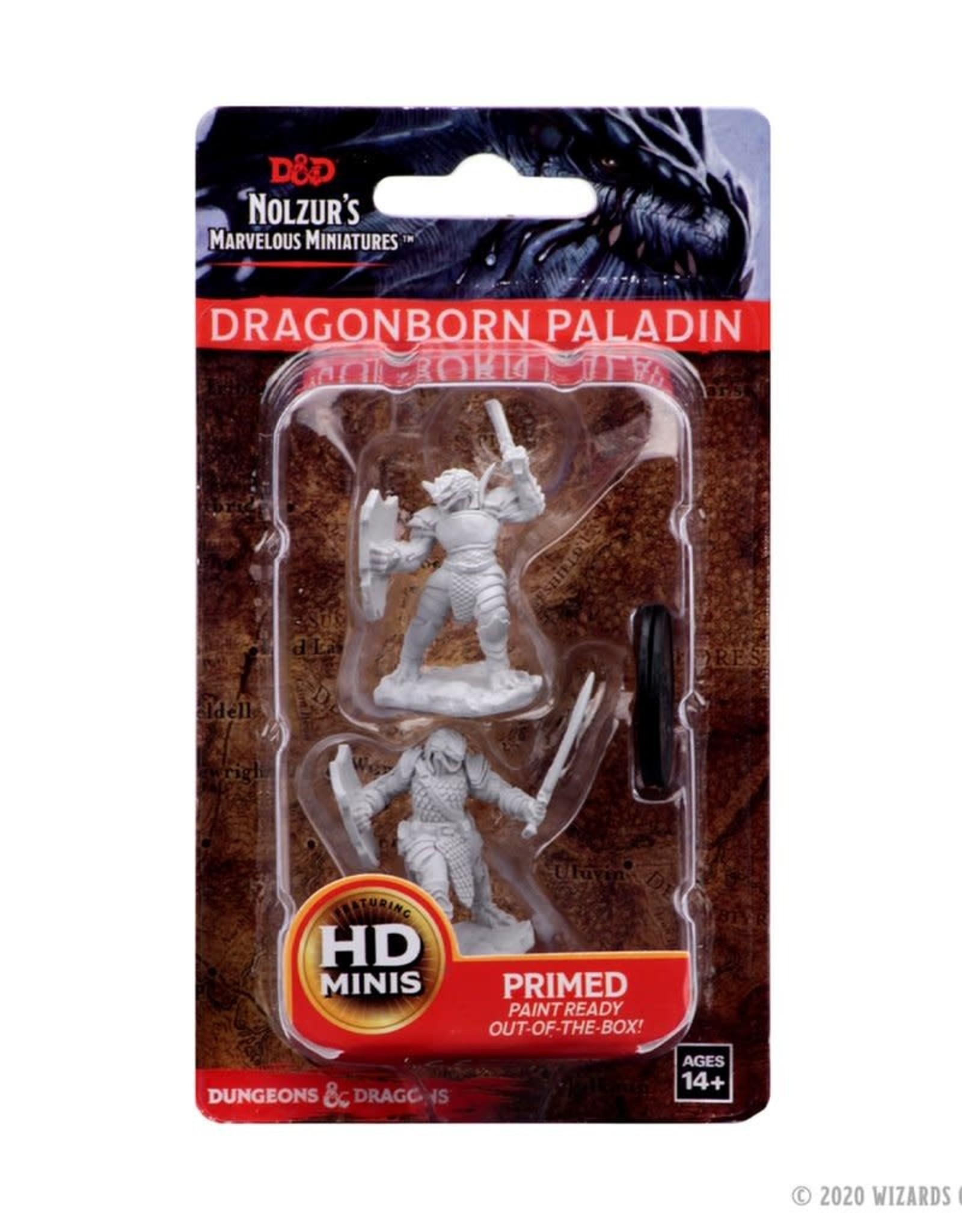 Wizkids D&D Unpainted Minis: Dragonborn Paladin Female