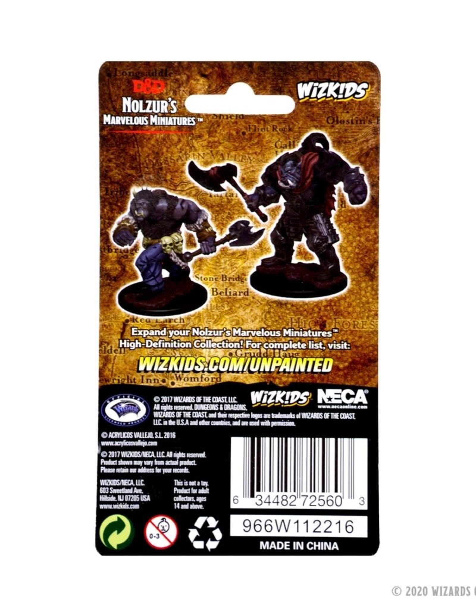 Wizkids D&D Unpainted Minis: Orcs