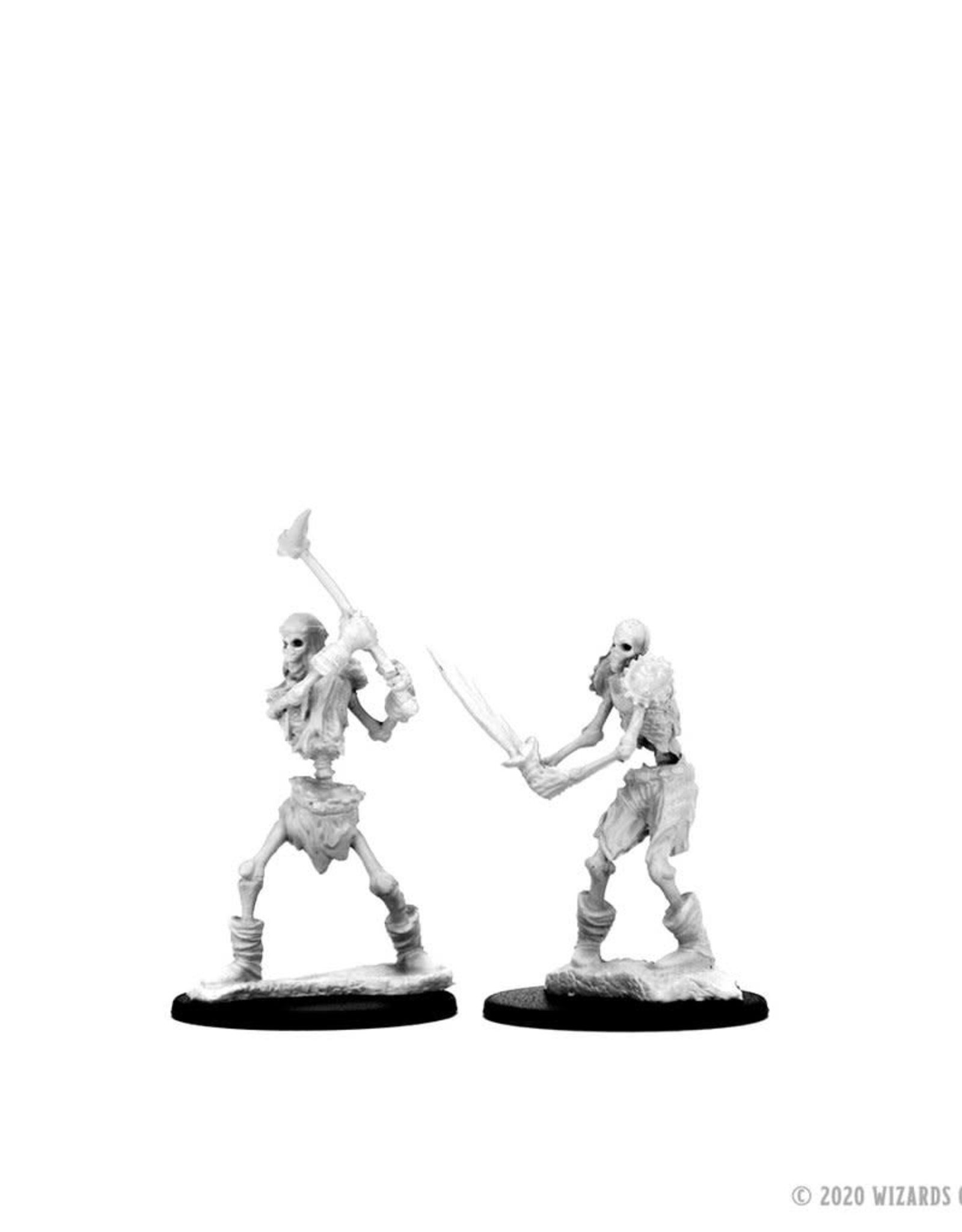 Wizkids D&D Unpainted Minis: Skeletons