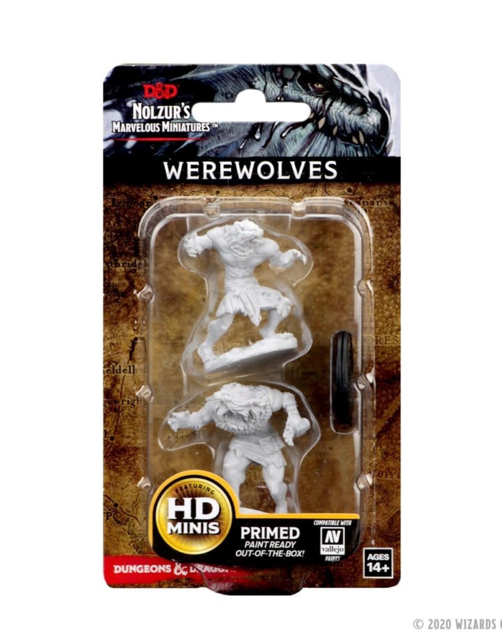 Wizkids D&D Unpainted Minis: Werewolves