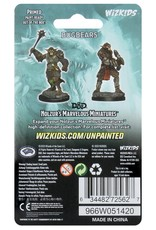 Wizkids D&D Unpainted Minis: Bugbears
