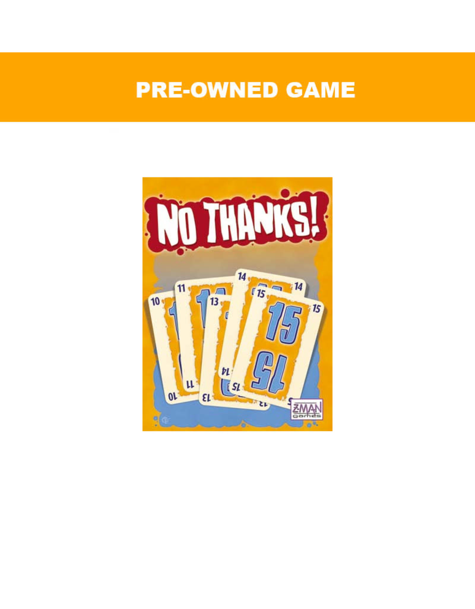 Miscellaneous (Pre-Owned Game) No Thanks
