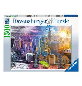 Ravensburger Day and Night NYC Skyeline Puzzle 1500 PC