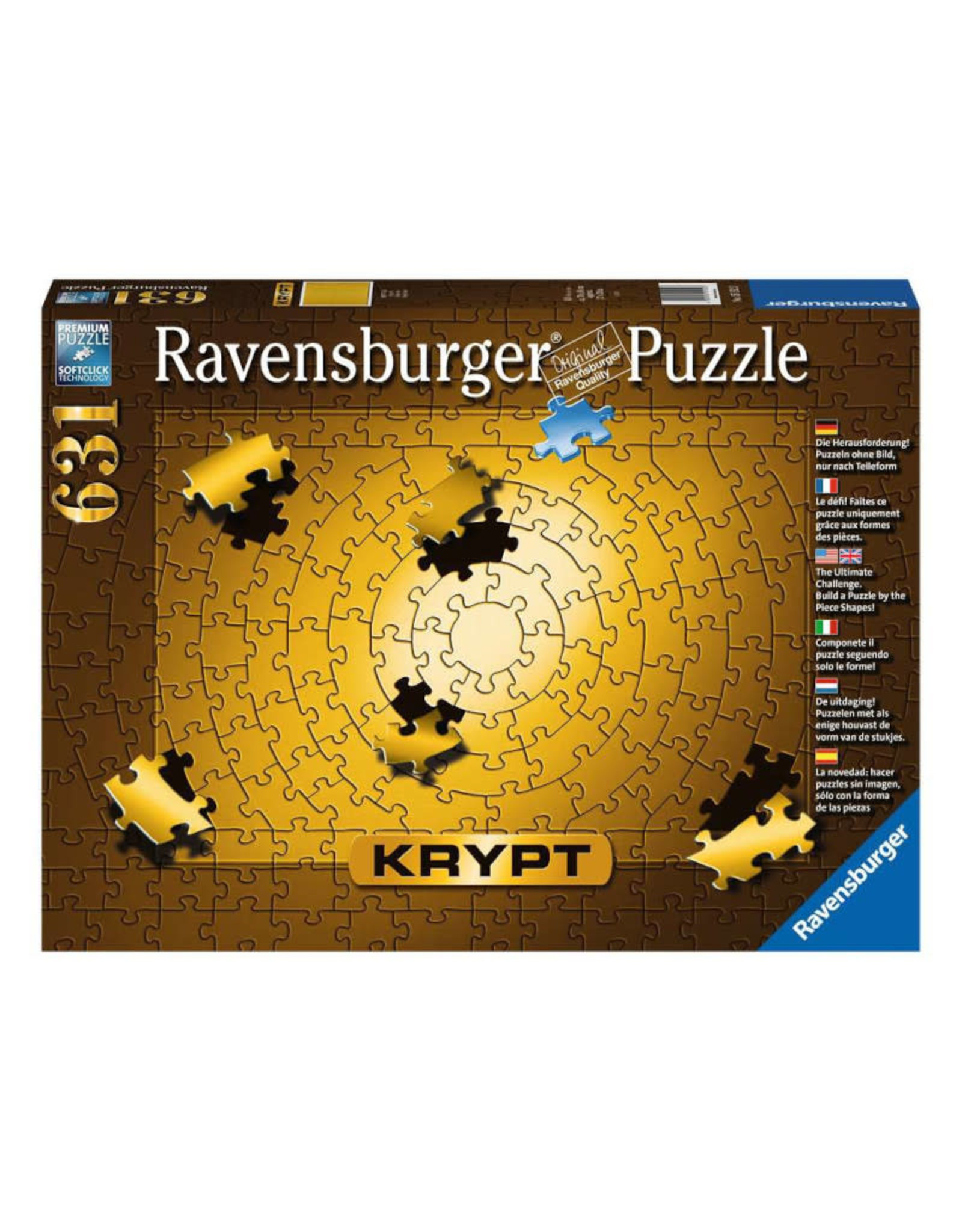 Ravensburger Krypt Gold Puzzle 631 PCS