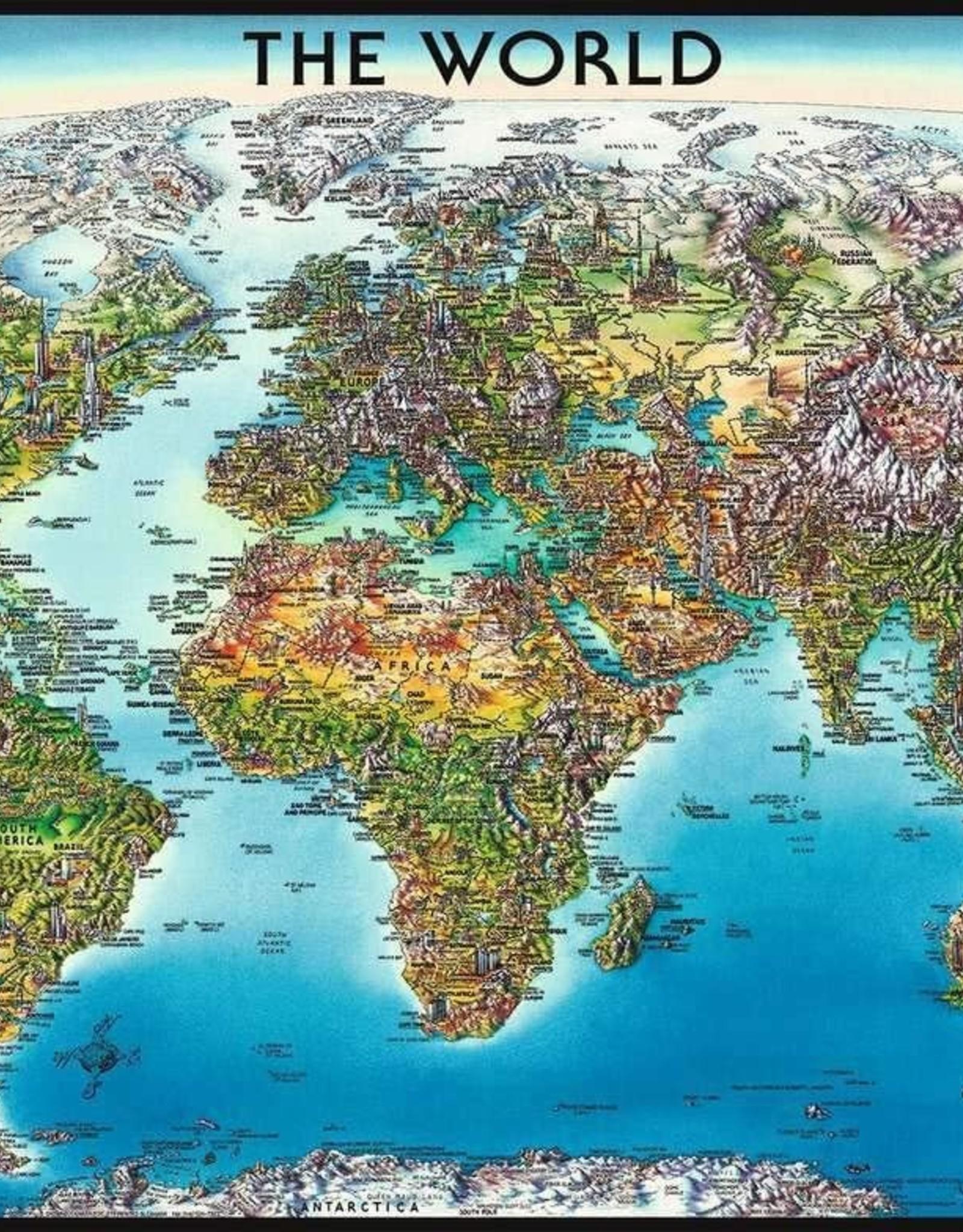 Ravensburger World Map Puzzle 2000 PCS