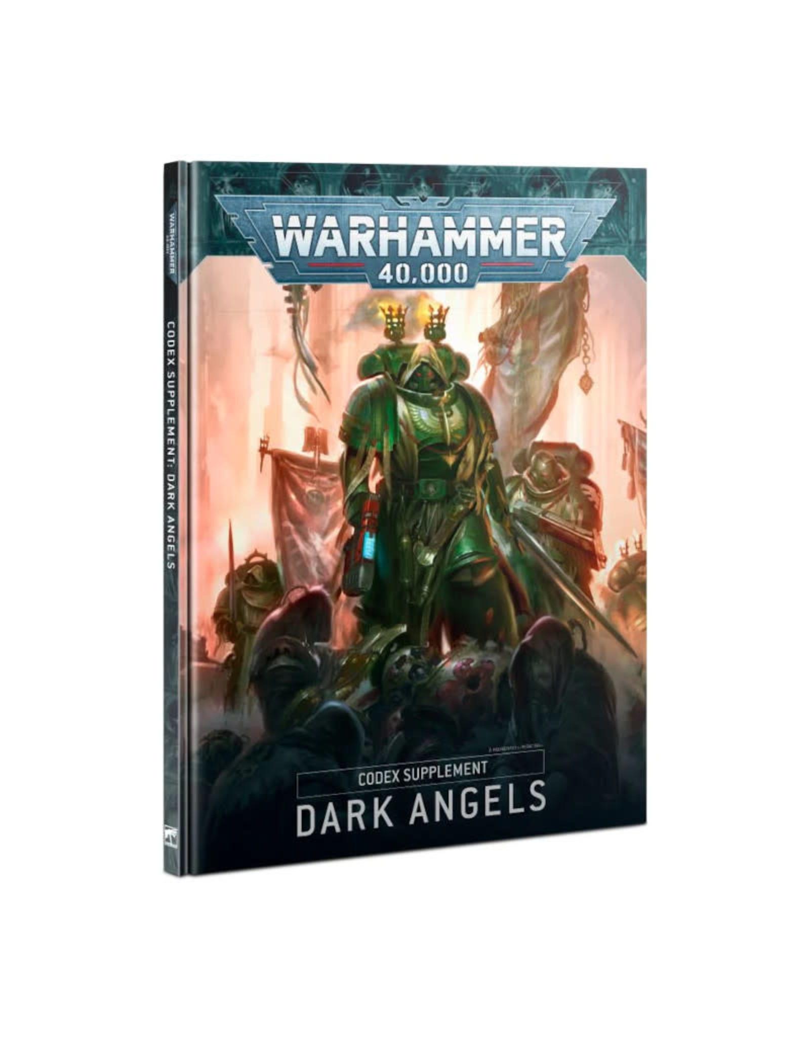 Games Workshop Warhammer 40k Codex Supplement: Dark Angels (9th Edition)