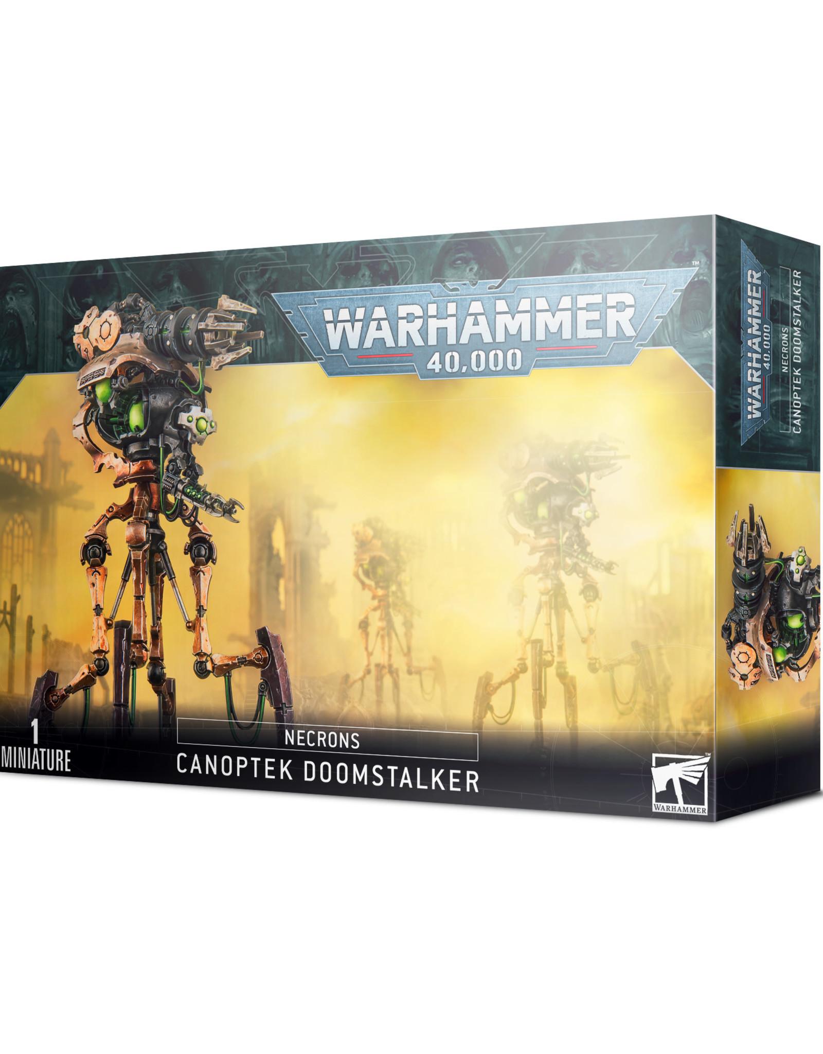 Games Workshop Warhammer 40k Necrons Canoptek Doomstalker